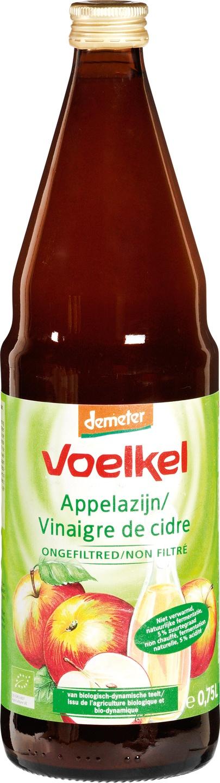 Biologische Voelkel Appelazijn demeter 750 ml