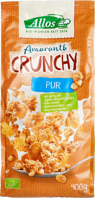 Biologische Allos Amaranth crunchy basic 400 gr