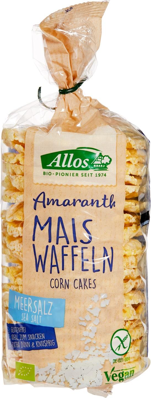 Biologische Allos Maiswafels zeezout 100 gr
