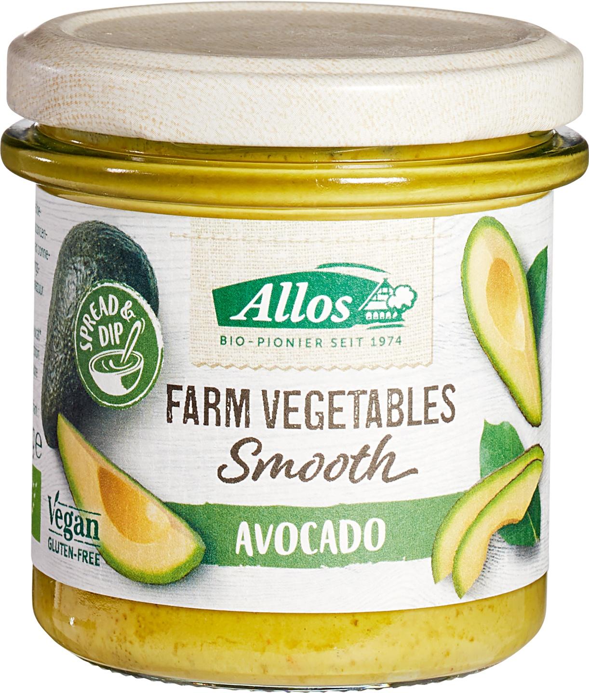 Biologische Allos Avocadospread 140 gr