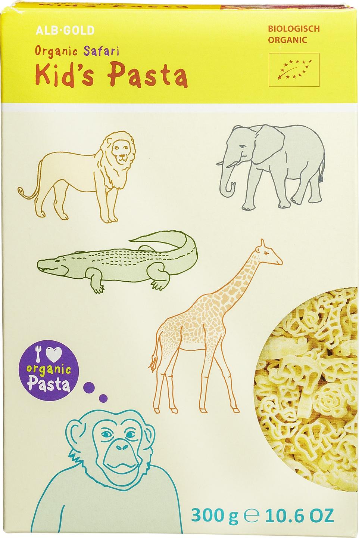 Biologische Alb-Natur Kids pasta safari 300 gr