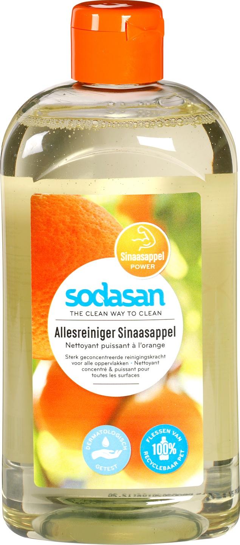 Biologische Sodasan Allesreiniger sinaasappel 500 ml