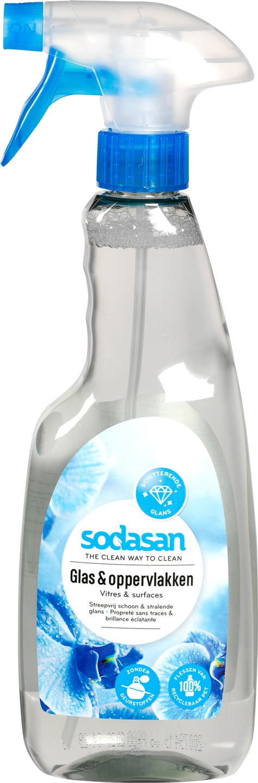 Biologische Sodasan Glas- en oppervlaktereiniger 500 ml