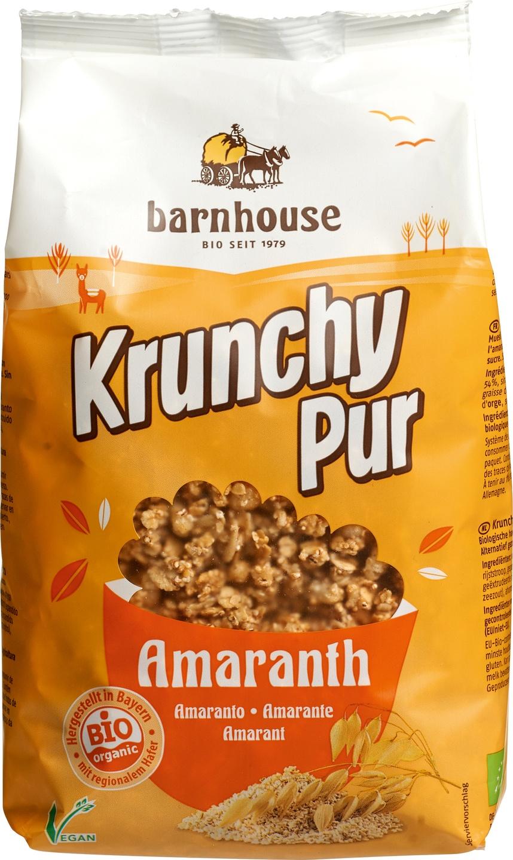 Biologische Barnhouse Krunchy pur amaranth 375 gr