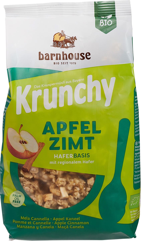 Biologische Barnhouse Krunchy muesli appel kaneel 375 gr