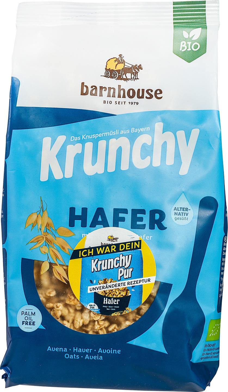 Biologische Barnhouse Krunchy pur haver 375 gr