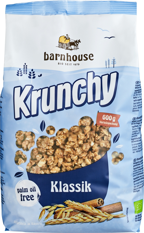 Biologische Barnhouse Krunchy classic 600 gr