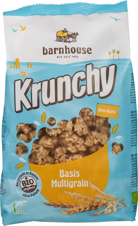 Biologische Barnhouse Krunchy muesli multigraan 600 gr