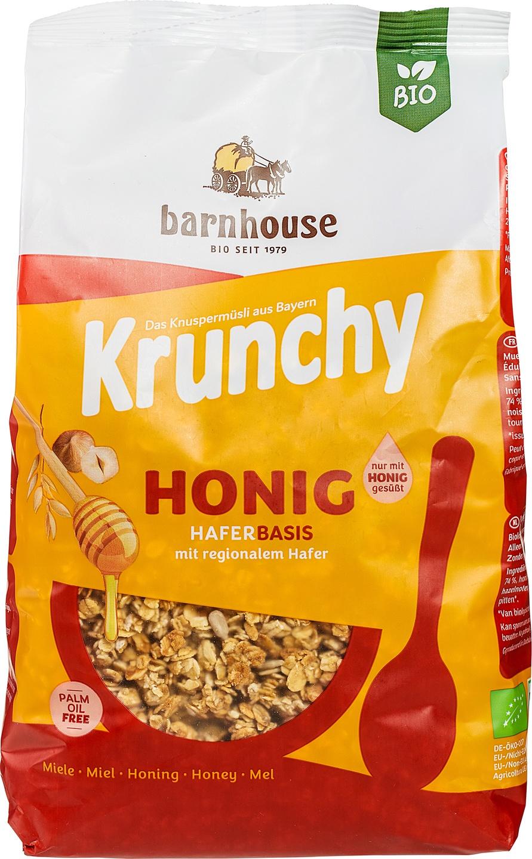 Biologische Barnhouse Krunchy honing 600 gr