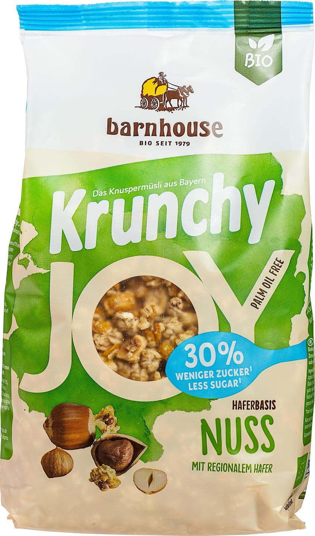 Biologische Barnhouse Krunchy joy noten 375 gr