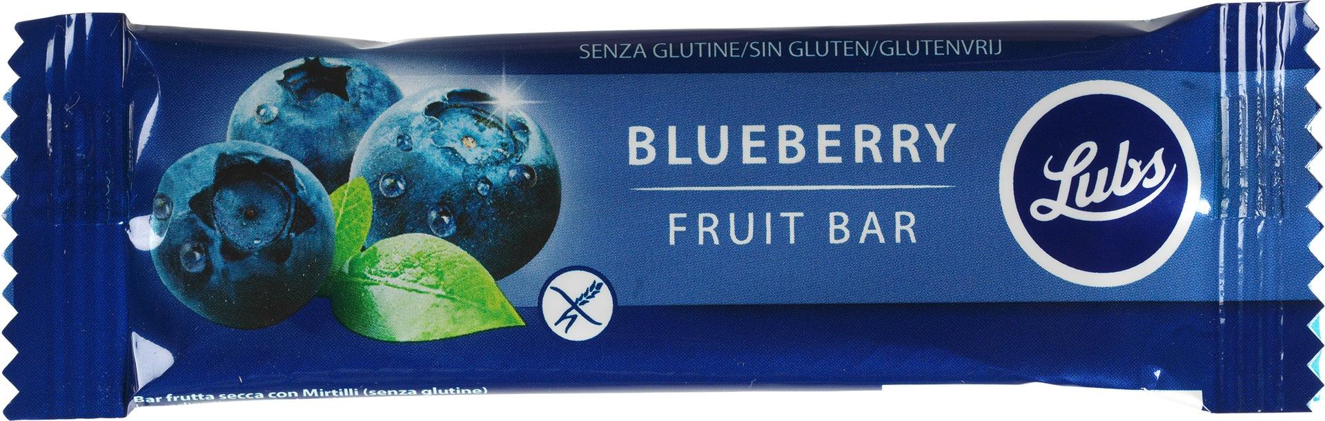 Biologische Lubs Fruitreep bosbes 30 gr