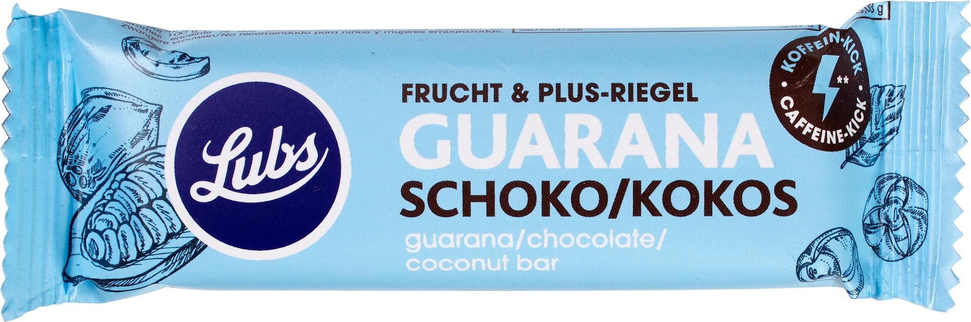 Biologische Lubs Fruitreep guarana 40 gr