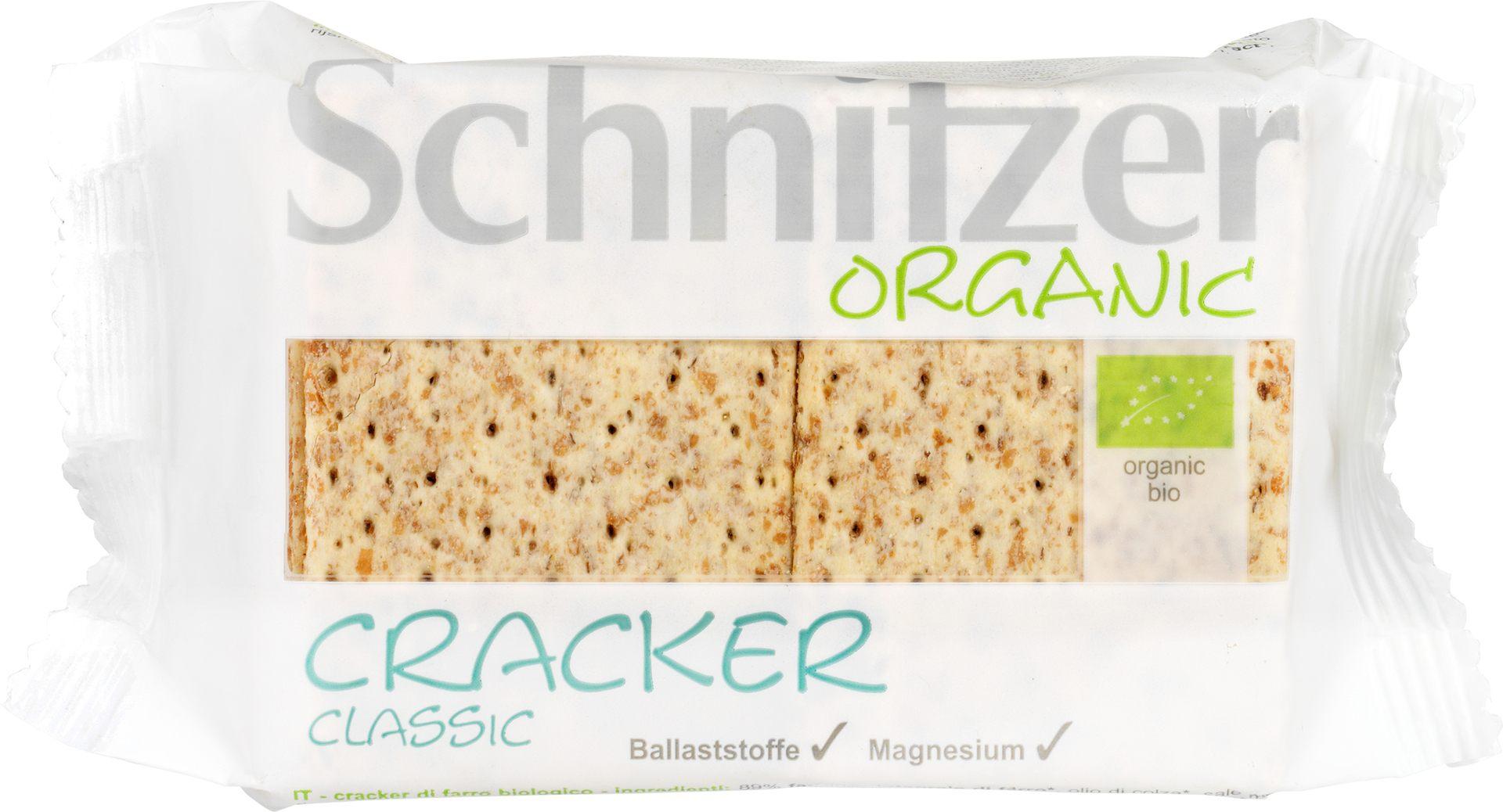 Biologische Schnitzer Speltcrackers 100 gr