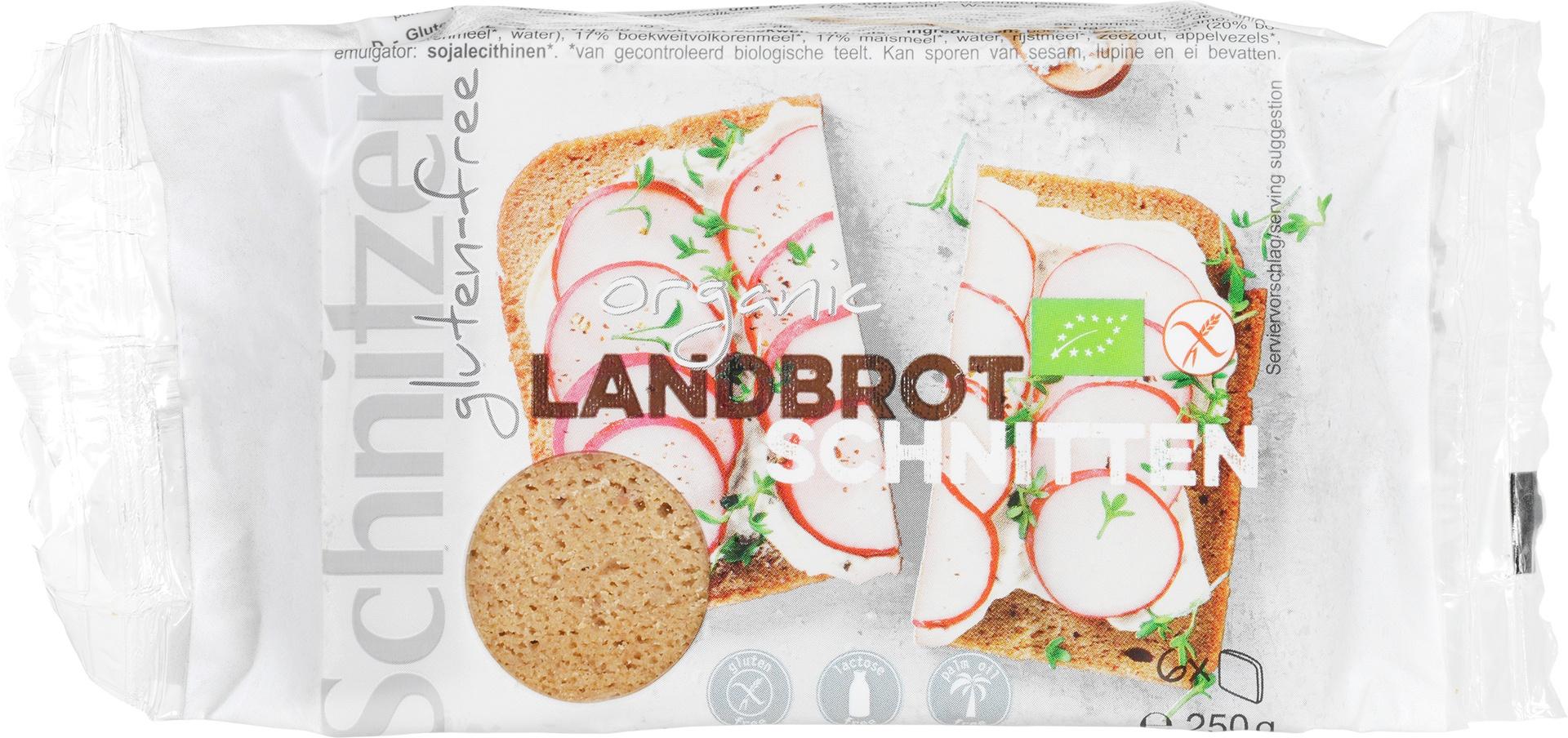Biologische Schnitzer Boerenbrood 250 gr