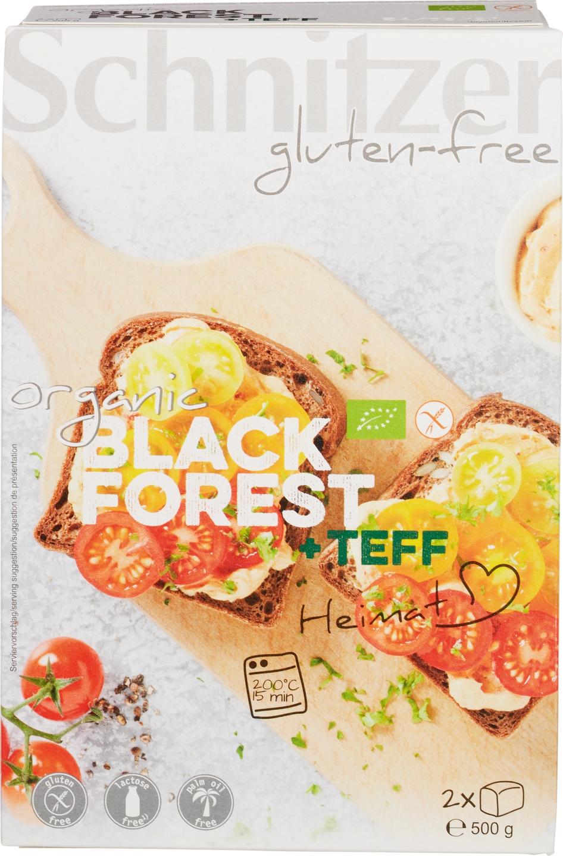 Biologische Schnitzer Black forest teff 500 gr