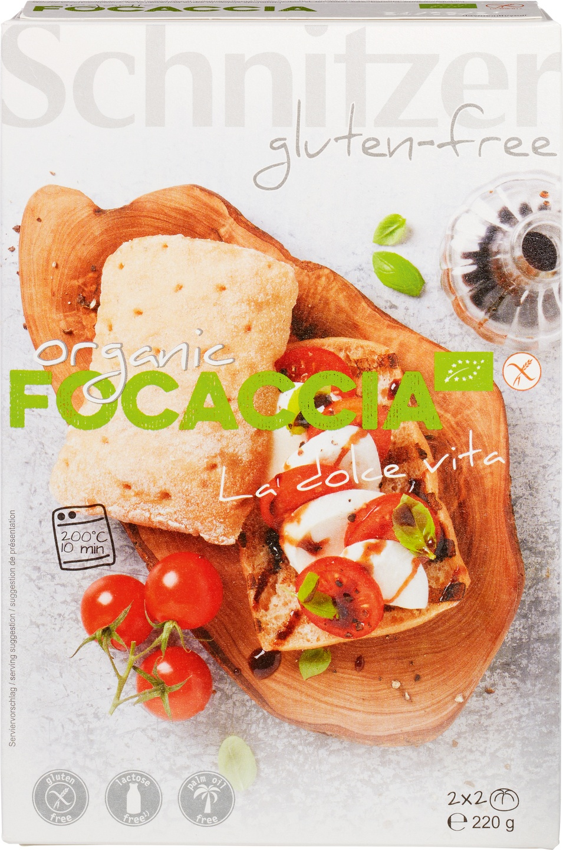 Biologische Schnitzer Focaccia broodjes 220 gr
