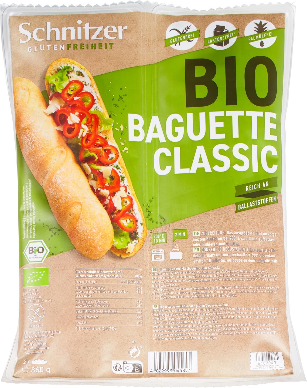 Biologische Schnitzer Baguette classic 360 gr
