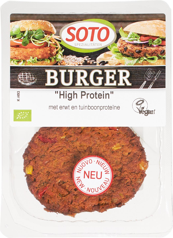 Biologische Soto Burger High protein 150 gr