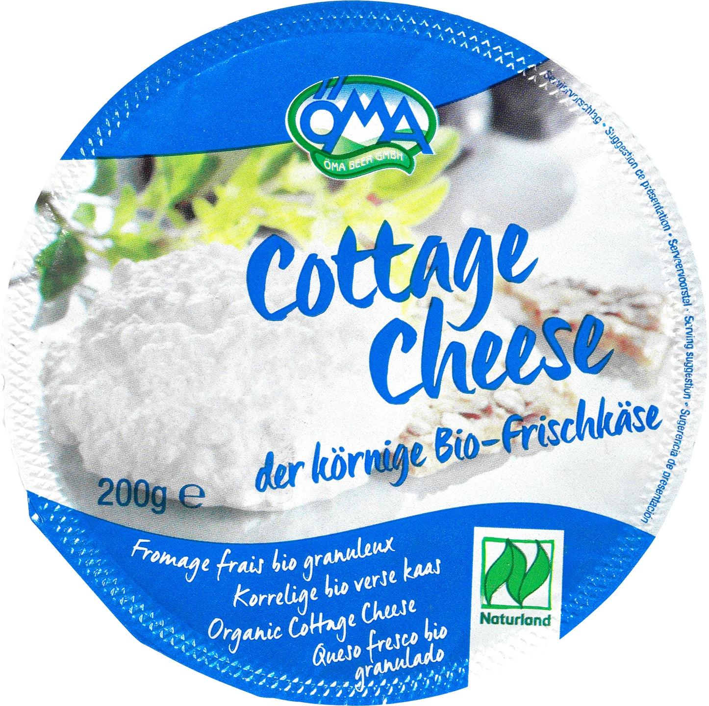 Biologische Öma Cottage Cheese 200 gr