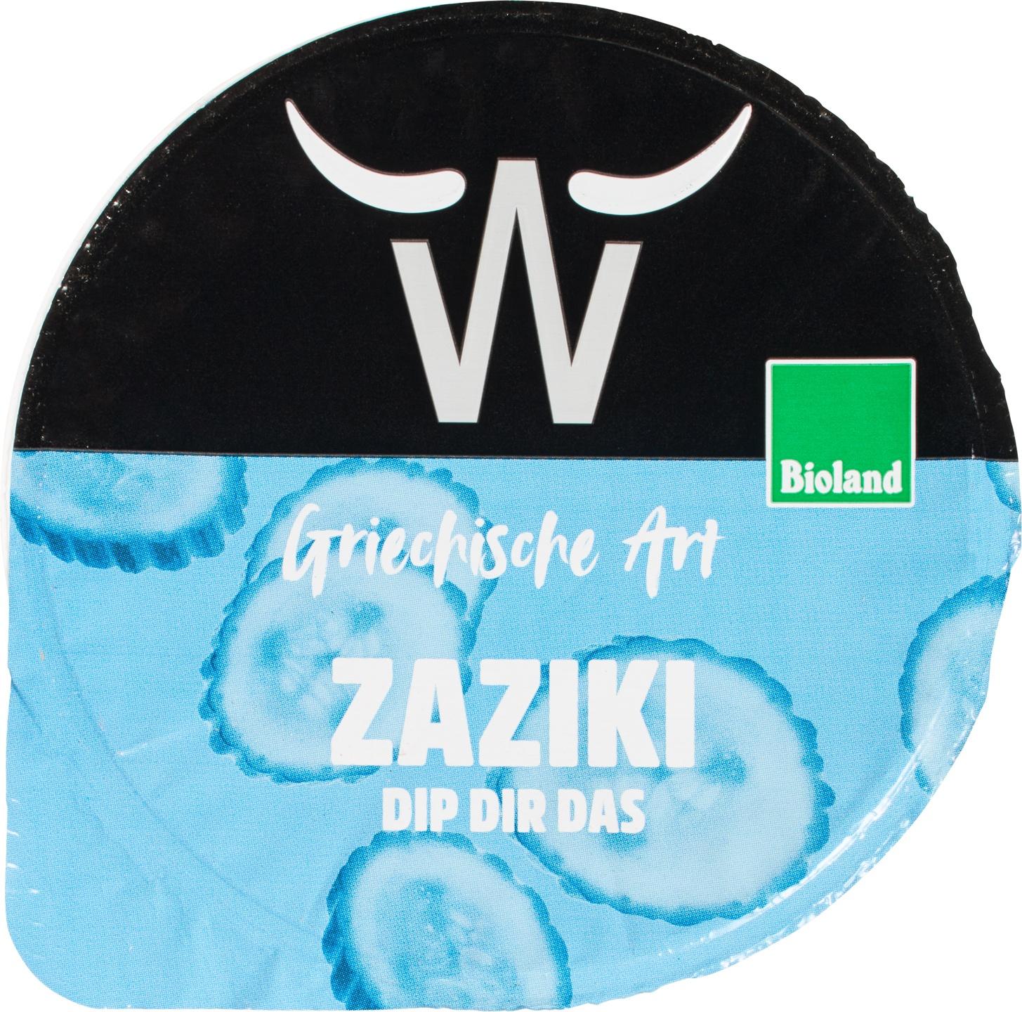 Biologische Weissenhorner Zaziki 175 gr