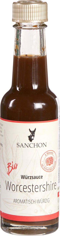 Biologische Sanchon Worcestershire saus 140 gr