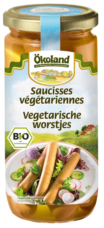Biologische Ökoland Vegetarische worstjes 380 gr