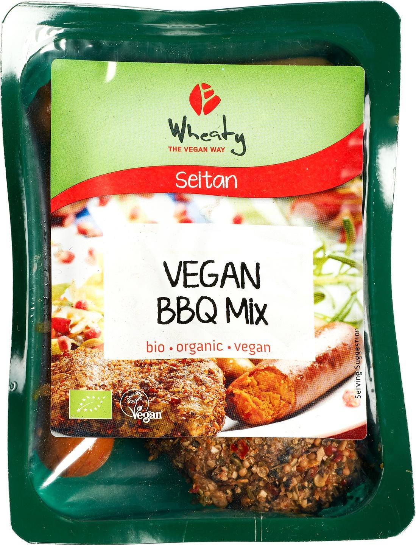 -20% SALE | Biologische Wheaty BBQ mix vegan 200 gr