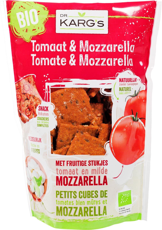 Biologische Dr. Karg's Tomaat en mozzarella snack 110 gr