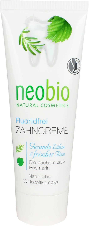 Biologische Neobio Tandpasta fluoridevrij 75 ml