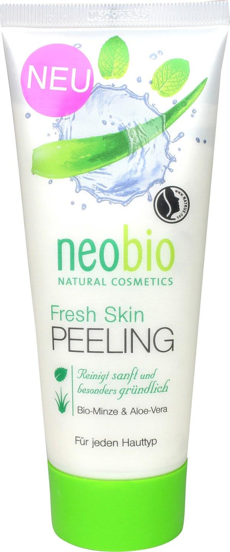 Biologische Neobio Gezichtsscrub fresh - alle huidtypes 100 ml