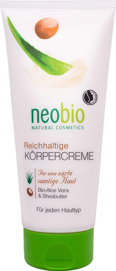 Biologische Neobio Lichaamscrème 200 ml