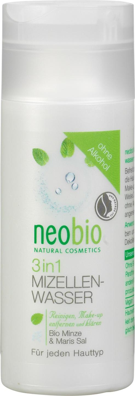 Biologische Neobio Micellair water 3 in 1 - alle huidtypes 150 ml