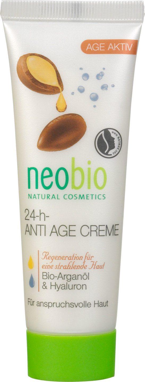 Biologische Neobio Dag- en nachtcrème arganolie - rijpere huid 50 ml