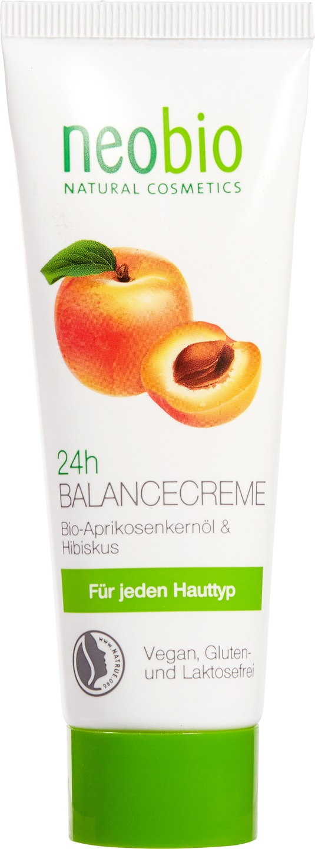 Biologische Neobio Dag- en nachtcrème abrikoos - alle huidtypen 50 ml