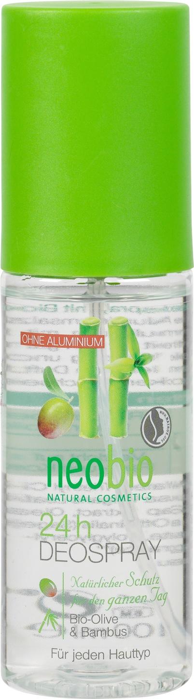 Biologische Neobio Deodorant olijf bamboe 100 ml