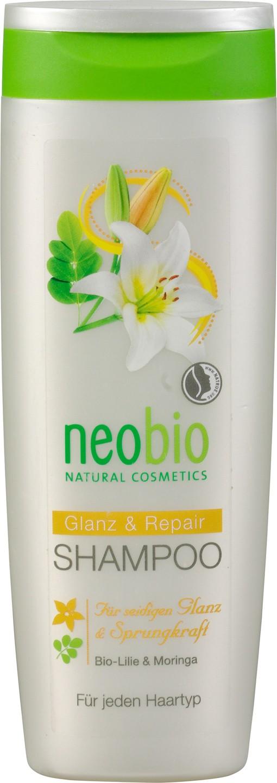 Biologische Neobio Shampoo glans & repair (beschadigd haar) 250 ml