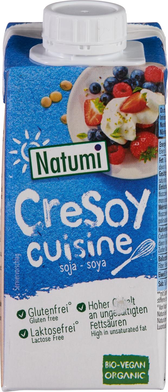 Biologische Natumi CreSoy soja 200 ml