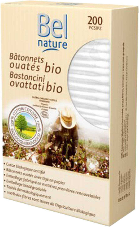 Biologische Bel Nature Wattenstaafjes normaal 200 st