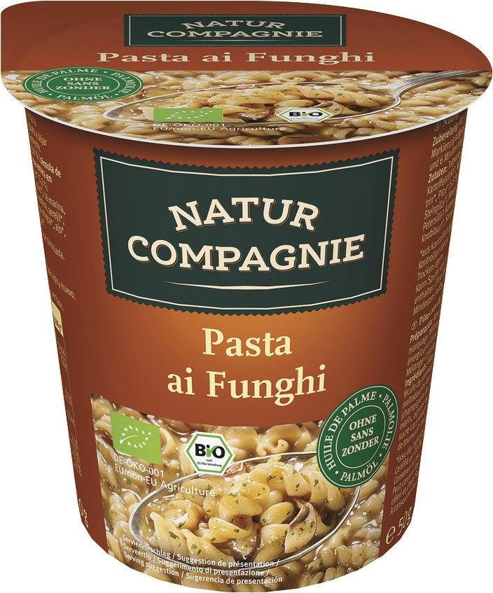 Biologische Natur Compagnie Pasta ai funghi 50 gr