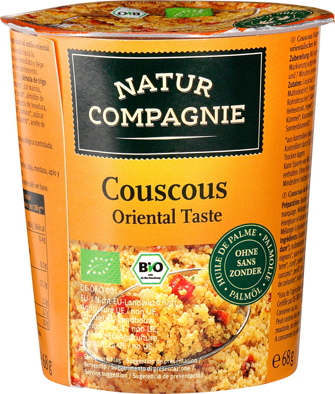 Biologische Natur Compagnie Couscous oriental style 68 gr