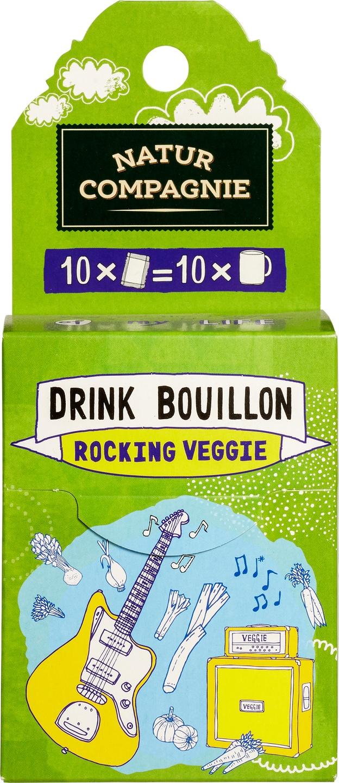 Biologische Natur Compagnie Drinkbouillon rocking veggie 43 gr