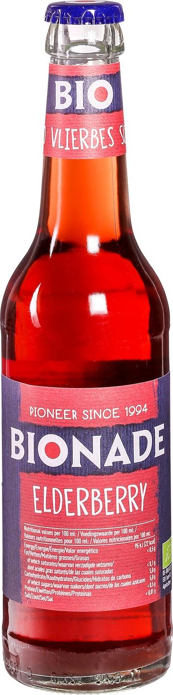 Biologische Bionade Vruchtendrank vlierbes 330 ml