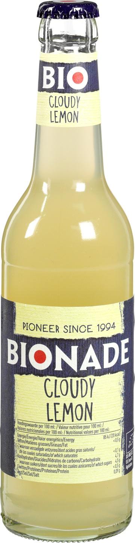 Biologische Bionade Vruchtendrank citroen 330 ml