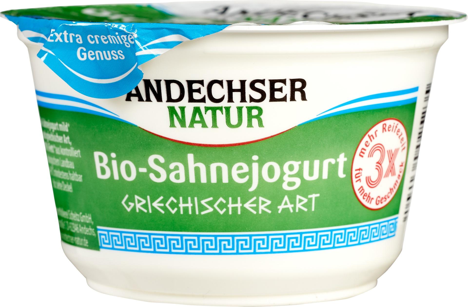 Biologische Andechser Griekse yoghurt 200 gr
