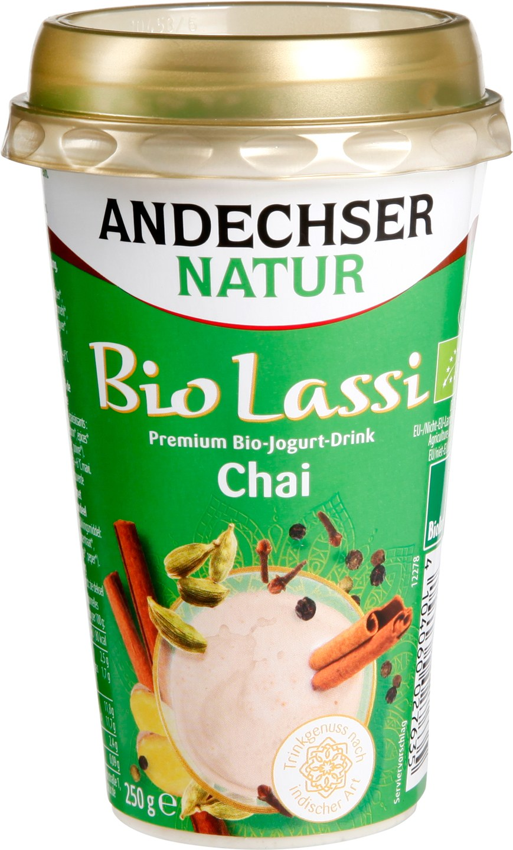 Biologische Andechser Lassi chai 3.5% 250 gr