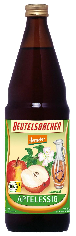 Biologische Beutelsbacher Appelazijn ongefilterd 750 ml