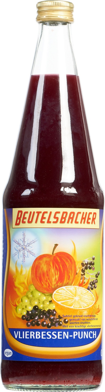 Biologische Beutelsbacher Vlierbessen punch 700 ml