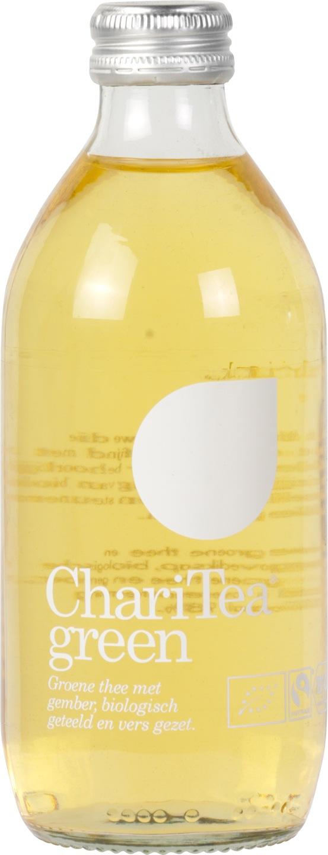 Biologische ChariTea Ice tea green 330 ml