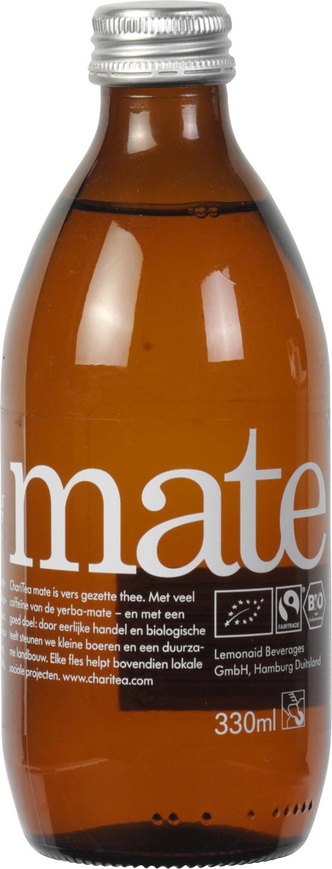 Biologische ChariTea Ice tea mate 330 ml