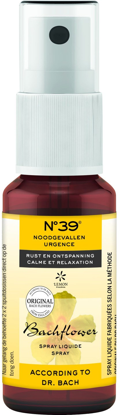 Biologische No.39 Noodgevallen spray 20 ml